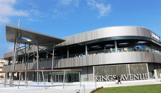 The new Kings Avenue Mall in Paphos